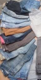 Título do anúncio: Kit 3 calças masculinas para uso diário ,do tipo para trabalho semi novas R$70,00