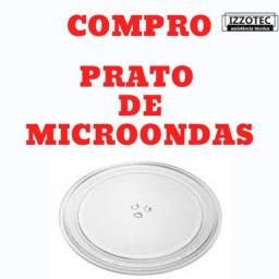 Prato de microondas até 29 cm