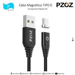 Cabo USB PZOZ Tipo C Magnético   @jrofficialstore