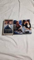 Fita de vídeo vhs Titanic