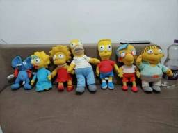 Coleção de Pelucia os Simpsons