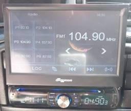 """Rádio automotivo 7"""" com Câmera de Ré"""