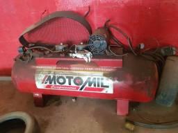 Reservatio e Motor Trifásico Compressor