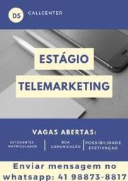 Título do anúncio: Estagiário de Telemarketing