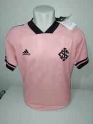 Camisa Internacional Rosa Adidas 2020