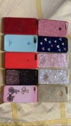 Vendo capinhas de IPhone 8Plus