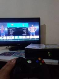 Entrego Xbox 360 novo destravado para HD e 1 controle e jogos