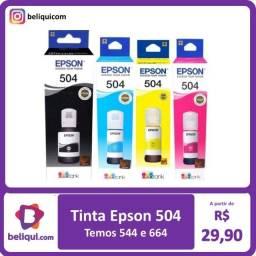Título do anúncio: Tinta Epson 504   