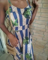 Vestido folhagens