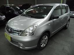 Nissan Livina S 1.8 16v Flex Autom Completo 2013 Prata