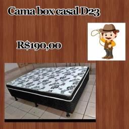 Cama box casal / Bases/ Kit Cama solteiro + casal