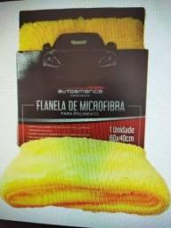 Flanela Microfibra AutoAmerica - Dupla Face R$ 25,00