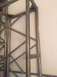 Título do anúncio: Boxtruss treliça Q70 ferro 2,50 metros,