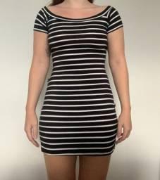 Vestidinho simples listrado