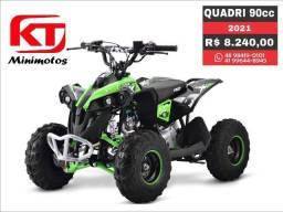 Quadriciclo MXF thor 90cc, moto mini quadri, moto,  brinquedo trilha