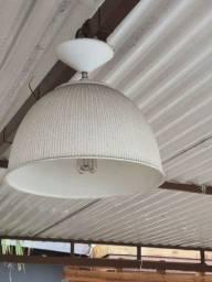 Título do anúncio: Luminaria  abazur suspenso