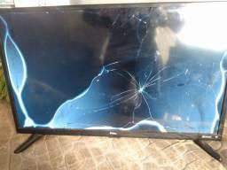 TV Philco smart 28 polegadas defeito na tela