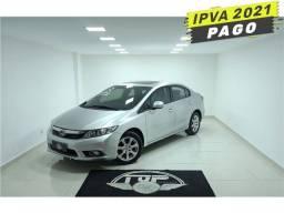 Honda Civic 2013 1.8 exs 16v flex 4p automático