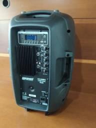Caixa Acústica Lexsen Lx12 Mp3 12 Pol. Fm/usb/bluetooth 140w
