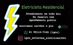 Título do anúncio: Eletricista Copacabana