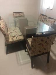 Título do anúncio: Mesa 6 cadeiras novinha