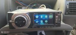 Dvd Philips tela 3.5 dvd USB cd sd Aux barbada aceito pix