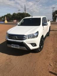 Toyota Hilux hillux 2017 unico dono - 2017