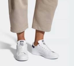 Tênis Couro adidas Original Stan Smith + Nota Fiscal SemiNovo fa93b7a9fe5