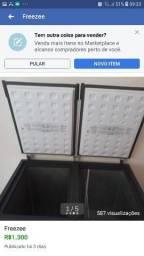 Freezer semi nova