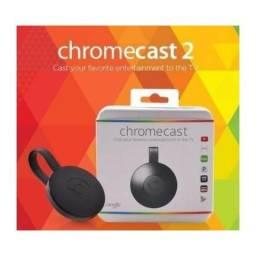 Chromecast 2.0 novo na caixa lacrado