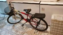 Bicicleta aro 26 com marchas