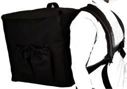 Mochila Bolsa Bag Térmica Entrega Para Motoboy Pizza Lanches Refeições