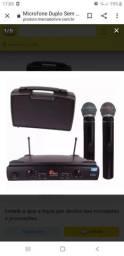 Microfones duplo sem fio-kadosh