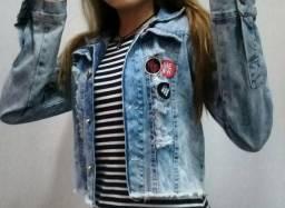 Jaqueta jeans fashion