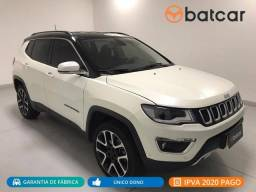 COMPASS 2018/2019 2.0 16V DIESEL LIMITED 4X4 AUTOMÁTICO