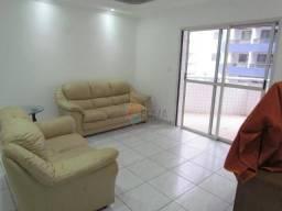 Apartamento com 2 dormitórios para alugar, 113 m² por R$ 3.200,00/mês - Canto do Forte - P