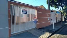 Casa 02 dormitórios, 02 vagas, Locação, Vila Nova, Cosmópolis, SP.