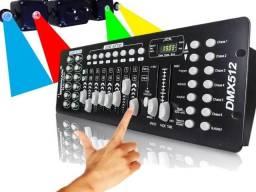 Mesa Controladora Efeitos De Luz Strobo Dmx 512 - Lk 192 - Garantia NF