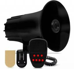 Sirene Automotiva 7 Tons com Microfone comprar usado  Maringa