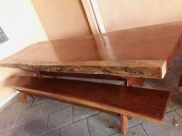 Mesa madeira jatobá 2.50