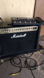 Amplificador valvulado Marshall ma 100
