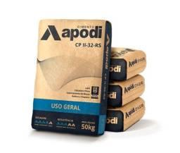 Cimento Apodi R$ 30,00 e Poty R$ 31,00