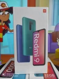 Redmi 9 da Xiaomi..Alto nível! NOVO LACRADO COM GARANTIA