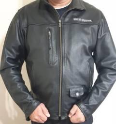 Jaqueta Harley Davidson Couro XL Original NOVA
