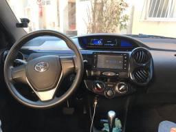 Etios 1.5 automático 2018 com gnv 5º geração R$51,500