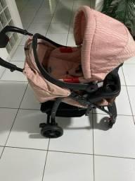 Carrinho de Bebê e Bebê conforto Burigotto