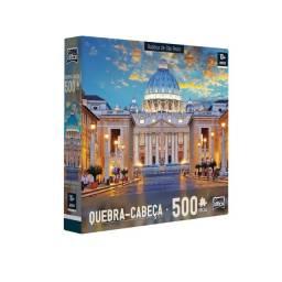 Quebra-Cabeça Puzzle 500 peças - Basílica São Pedro