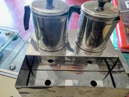 Esterilizadora elétrica com 2 bules 110v