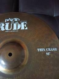 "Prato Paiste Rude Thin Crash 16"""