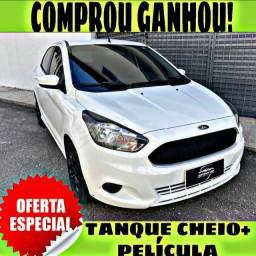 TANQUE CHEIO SO NA EMPORIUM CAR!!!! FORD KA SE 1.0 ANO 2017 COM MIL DE ENTRADA